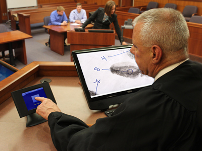 courtroom technology options nomad av systems Arts AV Technology optional courtroom av equipment